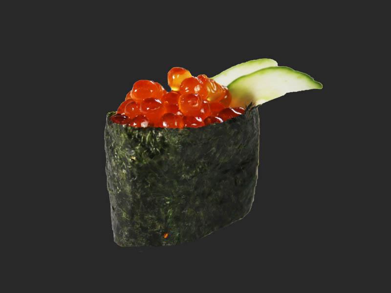 Salmon caviar tartare