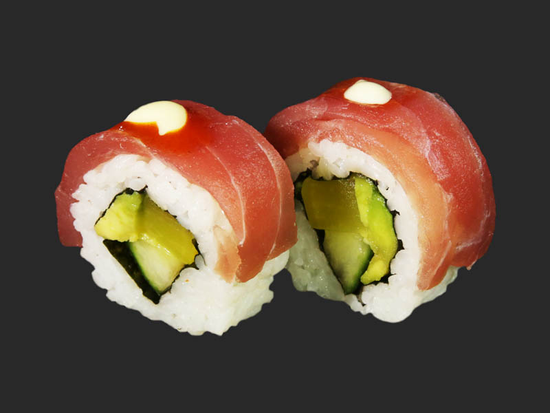 Avocado tuna roll 2pcs