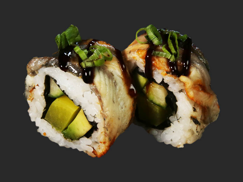 Grilled eel roll 2pcs